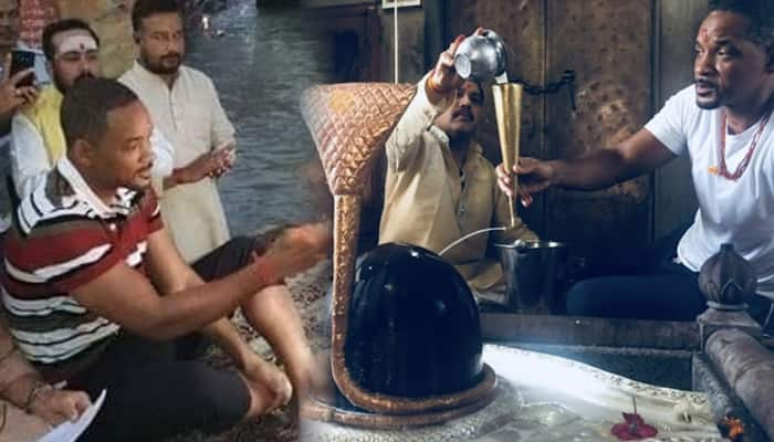 Hollywood actor Will Smith in Haridwar