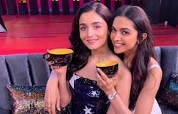 """<p style=""""text-align: justify;"""">Bollywood divas Alia Bhatt and Deepika share a great bond with each other, and they have been spotted together alot of times. When they came together in Koffee With Karan, Alia and Deepika poured their love on each other in several questions.</p>"""