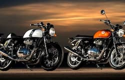 Royal Enfield Interceptor and Continental GT 650