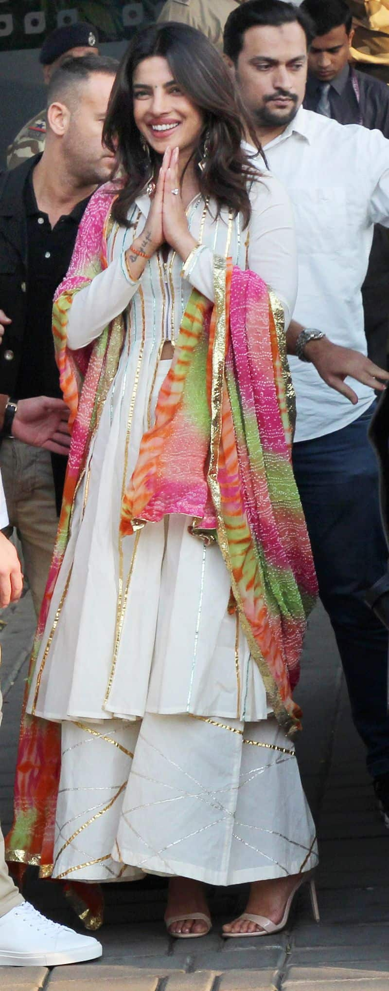 Bride-to-be spotted leaving for Jodhpur at the Mumbai airport as the wedding festivities kick off today.