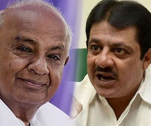 Zameer Ahmed's bonding with HD Deve Gowda: Is minister mulling a return to JD(S)?