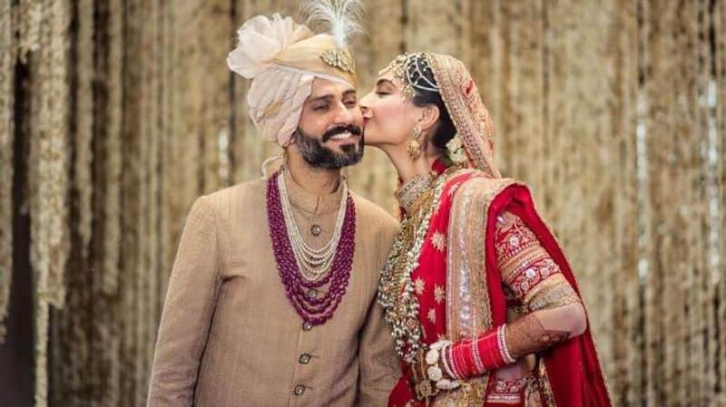 Anand Ahuja and Sonam Kapoor- The actor married long-term beau, businessman Anand Ahuja on May 18 in Mumbai. The star-studded wedding was the talk of social media for days after.