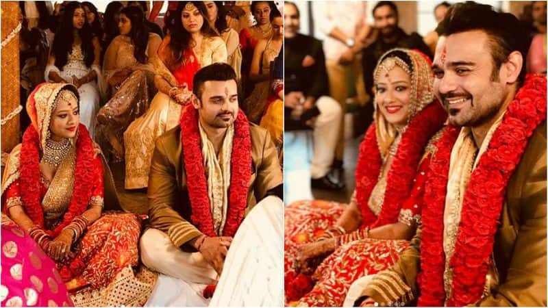 Mahaakshay Chakraborty and Madalsa Sharma- Mithun Chakraborty's elder son, actor Mahaakshay and daughter of filmmaker Subhash Sharma, Madalsa, got married in an intimate ceremony on July 10. Their wedding ceremony almost got cancelled after a Bhojpuri actor filed an FIR against Mahaakshay and his mother Yogeeta Bali, alleging them of rape, cheating and causing her miscarriage without consent.
