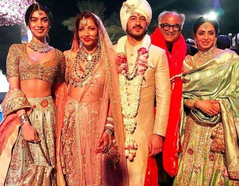 Mohit Marwah and Antara Motiwala- The actor and fashion stylist held a lavish wedding on February 22 at a resort in UAE. However, their wedding festivities descended into gloom when megastar Sridevi died at 54 in Dubai, where she and the other members of the Kapoor family were attending the wedding since Marwah was a nephew of the Kapoors.