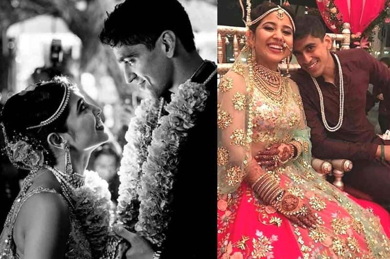 Chaitanya Sharma and Shweta Tripathi- Actor-rapper Chaitanya had proposed to the Masaan actor Shewta on a roller coaster ride. She said yes and what followed was a beautiful wedding in Goa on June 29