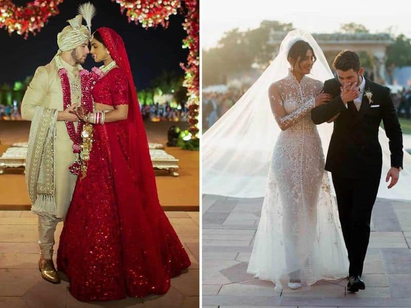 Nick Jones and Priyanka Chopra- The grand wedding took place on December 1 and was a perfect mix of east meets west. Their sangeet ceremony was nothing short of an entertaining musical film with family members from both sides putting up a show.