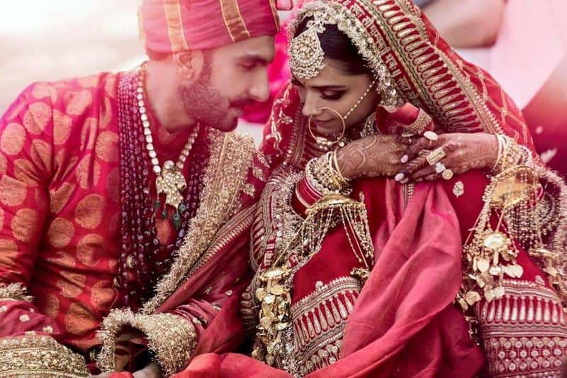 Ranveer Singh and Deepika Padukone- One of the most awaited weddings of the year, Bollywood's power couple tied the knot on November 14 in a traditional Konkani ceremony and then, a Sindhi wedding on November 15 in Lake Como, Italy. Their wedding was a highly private and kept many waiting desperately for pictures of their nuptials.
