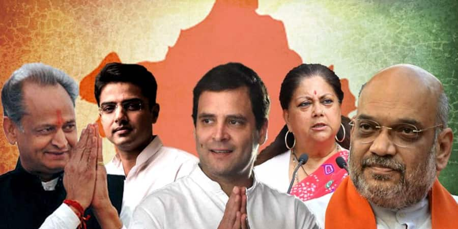 rajasthan assembly election votes counting live updates