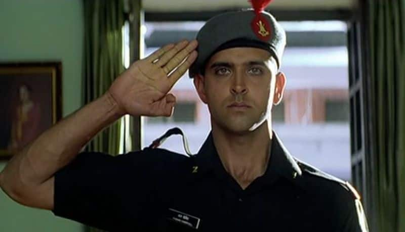 Hrithik Roshan finds his purpose in life as  officer cadet Karan Shergill in Lakshya and also a place in our coolest men in uniform list.