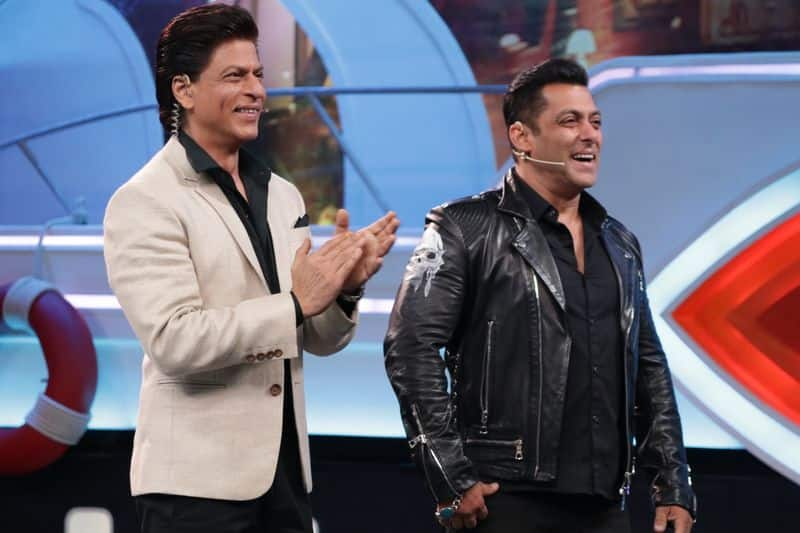 Salman has an impressive dance number in the film and is joined by Shah Rukh on stage in the song Issaqbaazi.
