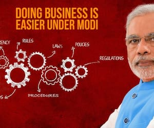 Ease of doing business respite Congress-era policy paralysis Modi brahmastra
