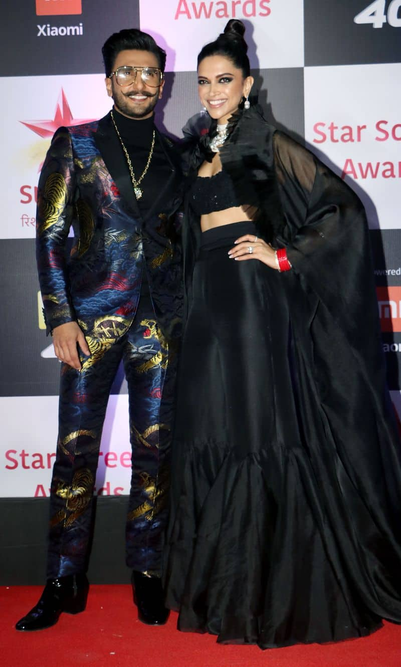 Newlyweds Ranveer Singh and Deepika Padukone also arrived in swag on the red carpet.