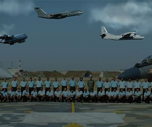 Indian Air Force's western command in war time preparation, creates record
