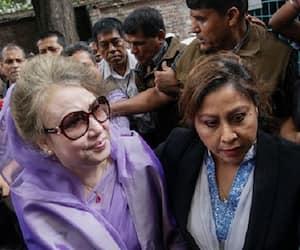 bangladesh high court begum khaleda zia disqualified election walkover sheikh hasina wazed