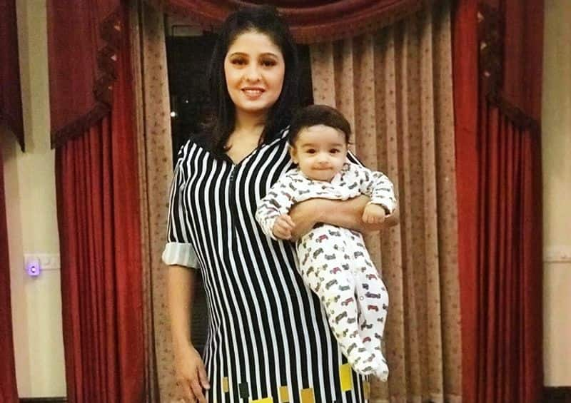 Bollywood famous singer Sunidhi Chauhan and husband Hitesh Sonik welcomed their first child, a baby boy, on January 1, 2018.