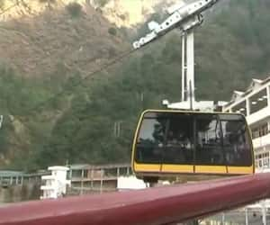 Rope way Service from Vaishno Devi Bhawan to Bhairon Ghati started