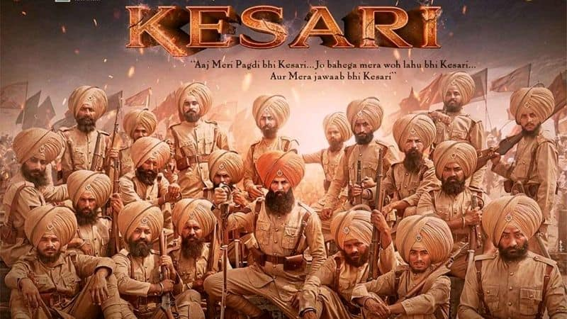 Kesari: An upcoming Indian period war drama, Kesari stars Akshay Kumar and Parineeti Chopra and is based on the Battle of Saragarhi. The movie is all scheduled to release on March 22nd 2019.