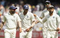 Mohammed Shami, Jasprit Bumrah, Ishant Sharma and Virat Kohli