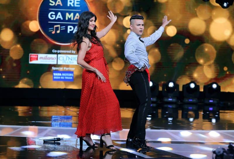 The singer rocked a belly dancing routine to woo Kaif on the sets of music show Sa Re Ga Ma Pa.