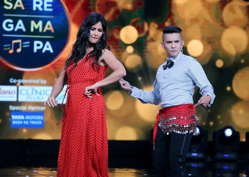 Looks like Narayan gave Kaif a tough competition who is quite a dancer as seen in Afghan Jalebi, Kala Chasma etc.