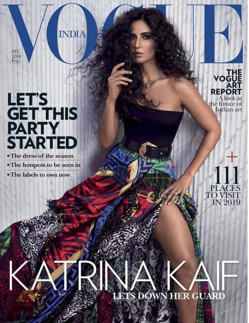 Katrina Kaif looks smoking hot on the December issue of Vogue India.