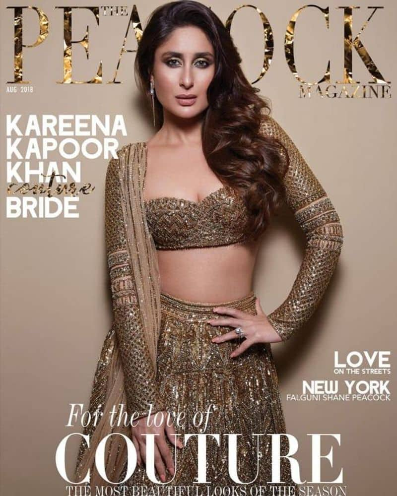 Kareena Kapoor Khan is the timeless couture bride on the cover of Peacock Magazine