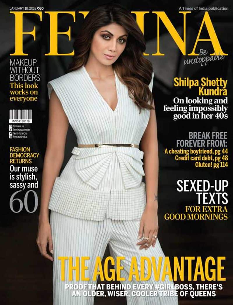 Shilpa Shetty Kundra and fashion go hand-in-hand. The yummy mommy posed for the January issue of Femina and looked absolutely stunning.