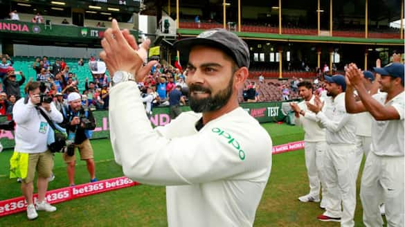 team india consecutively fifth time first rank in icc annual test rankings