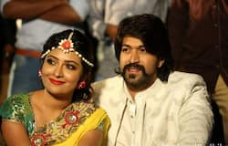 Yash and Radhika first met on the sets of television serial Nandagokul and dated for six years before tying the knot in 2016. They made their film debut together with 2008 movie Moggina Manasu. So far, the couple has worked together in four films.