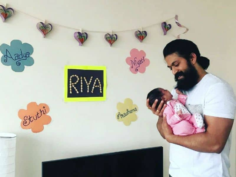 Radhika Pandit and Yash have a daughter together.