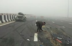 cars collapse in Sonipat