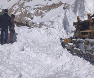 Three dead, 7 missing after avalanche hits Ladakh's Khardung La