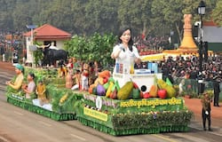 Second time, ICAR,Tableau, republic day,  Indian, freedom history