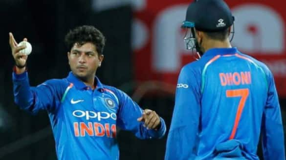 kuldeep yadav says that he missed dhoni on field