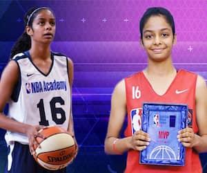India's pride: 17-year-old Sanjana Ramesh goes to US with WNBA dreams shining bright