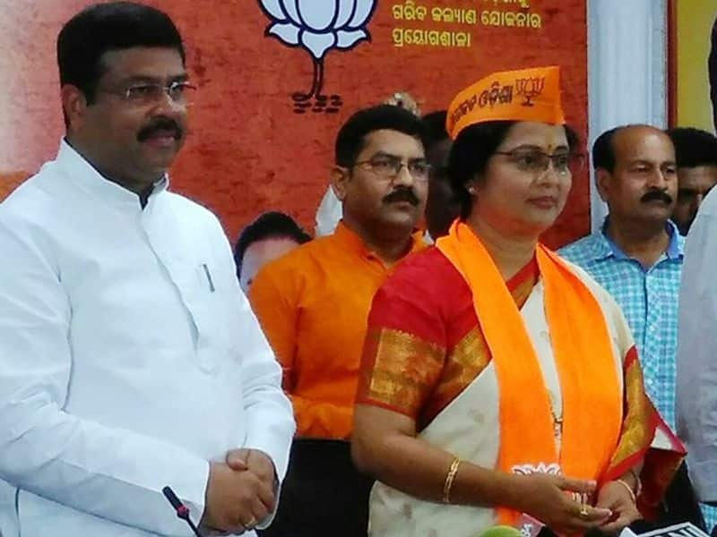 "Aparajita Mohanty: Veteran Odia actor Aparajita Mohanty joined the BJP last year in February in the presence of the party's senior leaders including union petroleum minister Dharmendra Pradhan. She quit the Congress in January 2018. ""I joined the BJP as I was influenced by Prime Minister Narendra Modi's ideals,"" she said."