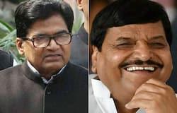 Shivpal Yadav and Ram Gopal Yadav face to face in Firozabad,