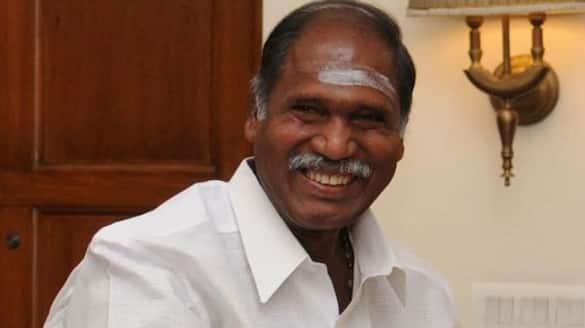 N Rangasamy takes oath as Puducherry CM pod