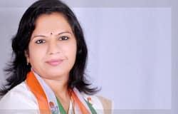 AshaBen Patel joined bjp