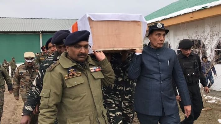 Pulwama Attack: Security of those hobnobing with Pakistan will be reviewed says Rajnath Singh