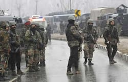 Security forces shoot down one terrorist in Hadwara, search operation underway