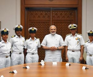 Coolest women in India INSV Tarini crew say about Women's Day