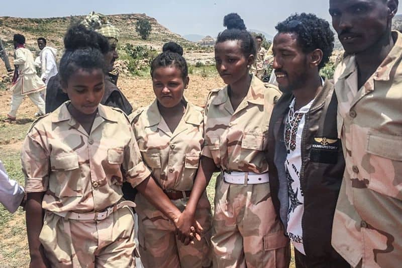 Eritrea:  During the civil war in Eritrea, as well as the border conflict at Ethiopia, women were at the forefront during combat. They make up 30% of the Army.