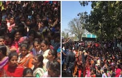 Pollachi College Student Protest