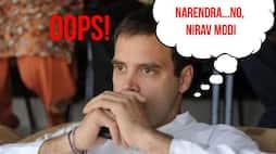 Oops, I did it again: Rahul Gandhi now confuses Narendra Modi with Nirav Modi