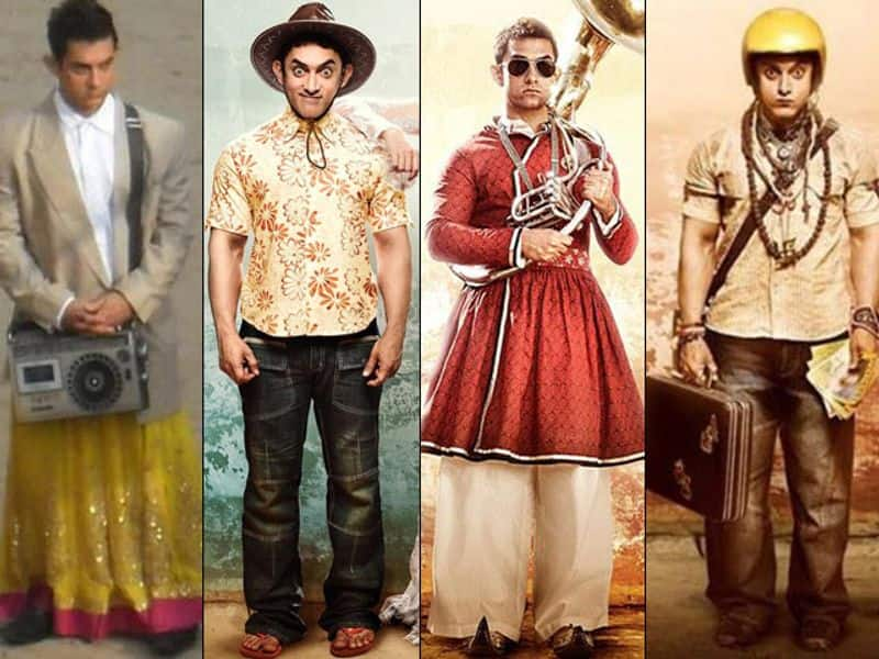 Aamir Khan is the first one to enter ₹100 crore, ₹200 crore and ₹300 crore club and is now touching the ₹400 crore club. Let us celebrate his birthday with his top 20 looks from his movies.