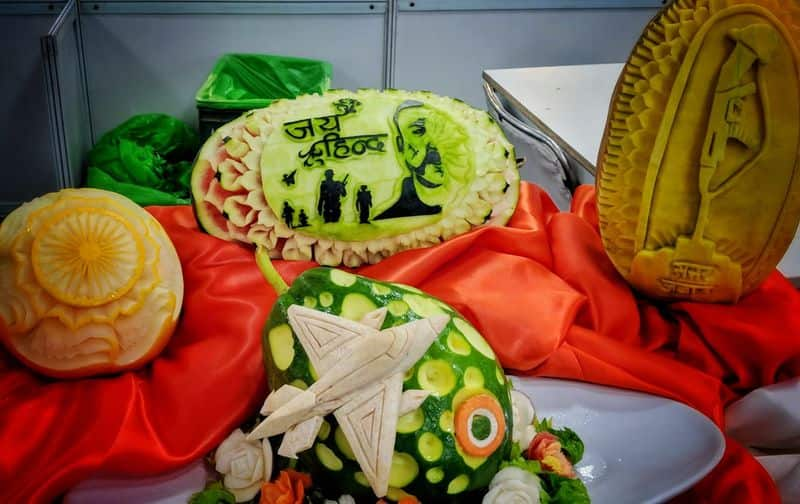 This craft was presented at India's biggest culinary competition- Culinary Art India 2019 held on the sidelines of Aahar at Pragati Maidan, New Delhi.