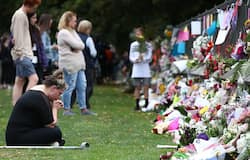 Kins pray for the deceased after terror attacks in mosques in New Zealand