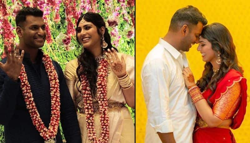 Vishal and Arjun Reddy actress Anisha Alla Reddy made their relationship official early this year. The couple got engaged in a lavish ceremony amid close friends and family at a plush hotel in Hyderabad on March 16.