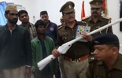 Illegal arms factory busted in Saharanpur Uttar Pradesh